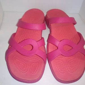 Crocs Womens Sandals size 8